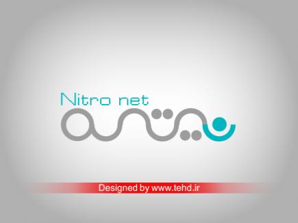 طراحی لوگو اینترنت پرسرعت نیترونت