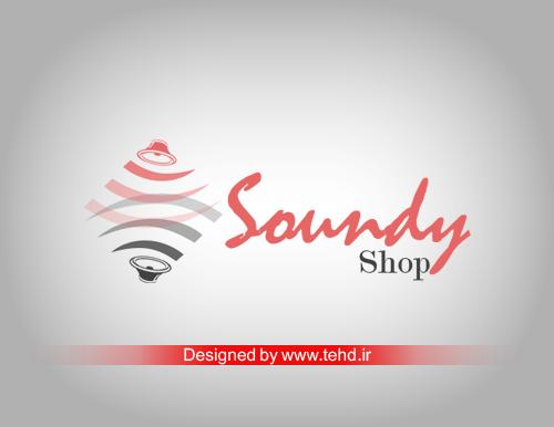 طراحی لوگو ساندی شاپ