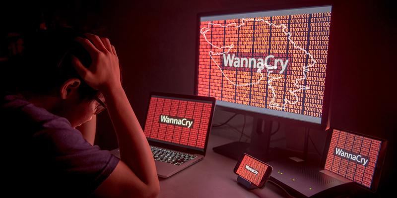 آخرین آمار حمله باج افزار واناکرای