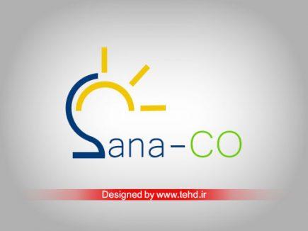 طراحی لوگو شرکت ساناصنعت