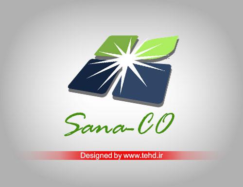 طراحی لوگو تهران دیزاین سانا صنعت ترکیبی